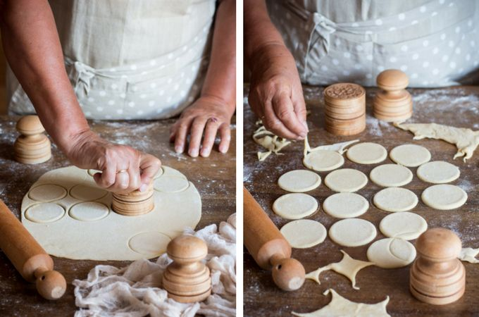 how to make corzetti pasta at home